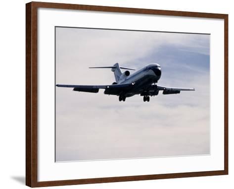 Airplane in Flight-David Harrison-Framed Art Print