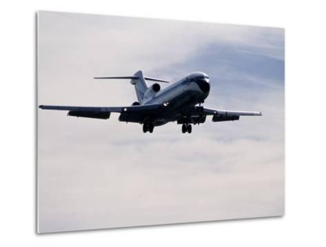 Airplane in Flight-David Harrison-Metal Print
