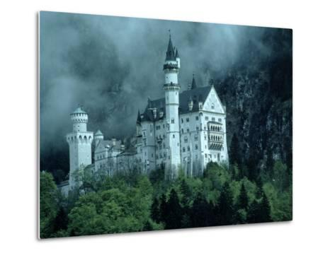 Castle, Neuschwanstein, Germany-Arnie Rosner-Metal Print
