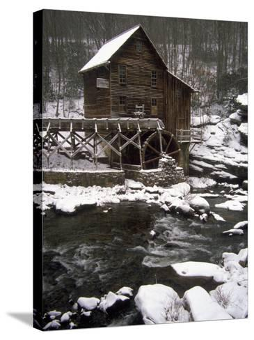Old Mill, Babcock State Park, West Virginia-Charles Benes-Stretched Canvas Print