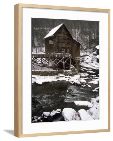 Old Mill, Babcock State Park, West Virginia-Charles Benes-Framed Art Print