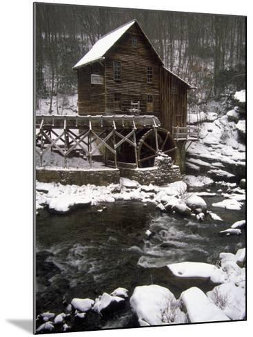 Old Mill, Babcock State Park, West Virginia-Charles Benes-Mounted Photographic Print