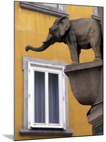 Architectural Detail, Steyr, Austria-Walter Bibikow-Mounted Photographic Print