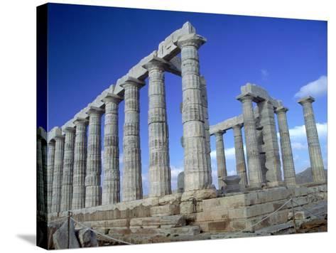 Temple of Poseidon, Cape Sounion, Greece-Phyllis Picardi-Stretched Canvas Print