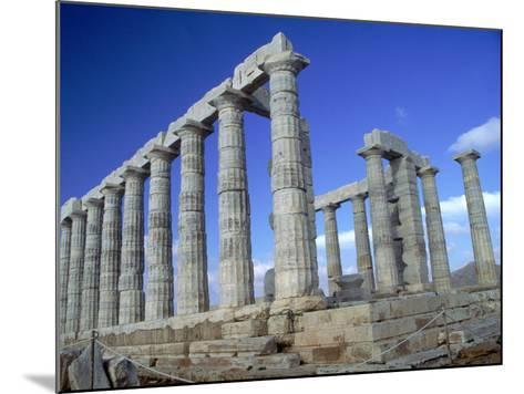 Temple of Poseidon, Cape Sounion, Greece-Phyllis Picardi-Mounted Photographic Print