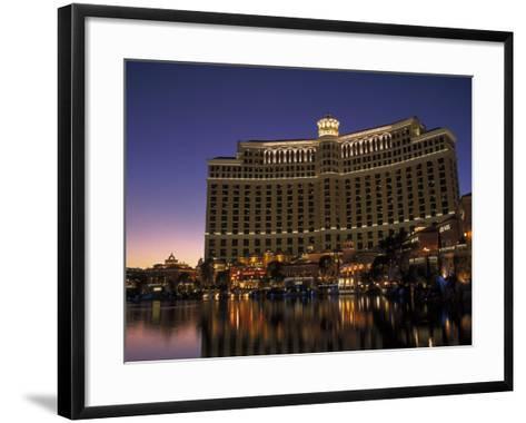 Bellagio Hotel, Las Vegas, NV-Lynn Eodice-Framed Art Print