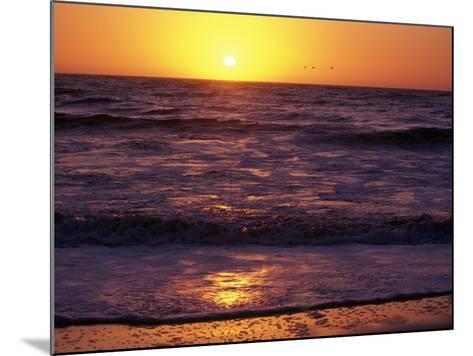 Ocean Beach at Sunset, San Francisco, CA-Daniel McGarrah-Mounted Photographic Print