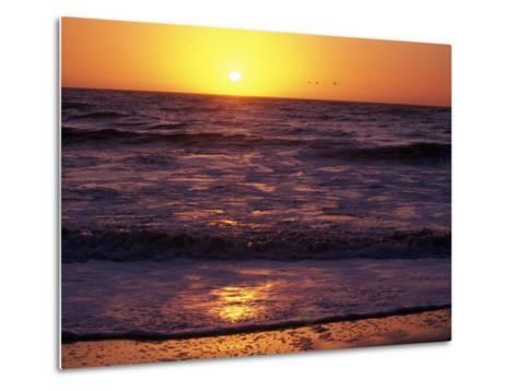 Ocean Beach at Sunset, San Francisco, CA-Daniel McGarrah-Metal Print