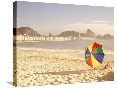 Copacabana Beach, Rio de Janeiro, Brazil-Silvestre Machado-Stretched Canvas Print
