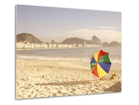 Copacabana Beach, Rio de Janeiro, Brazil-Silvestre Machado-Metal Print