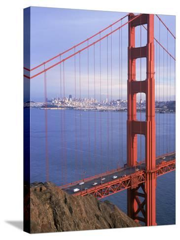 Golden Gate Bridge, San Francisco, California-Charles Benes-Stretched Canvas Print