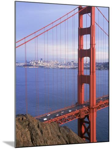 Golden Gate Bridge, San Francisco, California-Charles Benes-Mounted Photographic Print