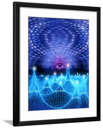 Eye on Cyberspace-Carol & Mike Werner-Framed Art Print