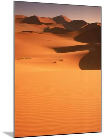 Sand Dunes, Namibia-Peter Adams-Mounted Photographic Print