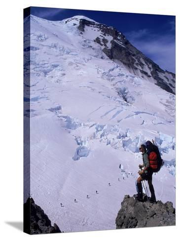 Emmons Glacier on Mt. Rainier, Washington-Cheyenne Rouse-Stretched Canvas Print