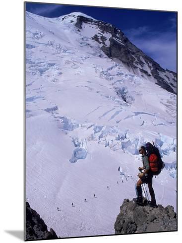 Emmons Glacier on Mt. Rainier, Washington-Cheyenne Rouse-Mounted Photographic Print