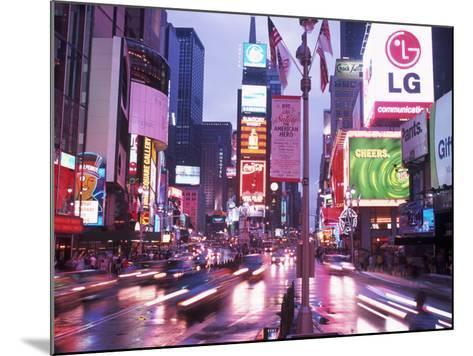 Times Square at Night, NYC, NY-Rudi Von Briel-Mounted Photographic Print