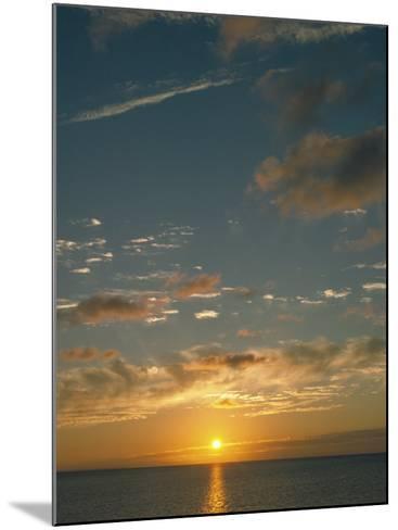 Sunset Over Ocean, HI-Steven Baratz-Mounted Photographic Print