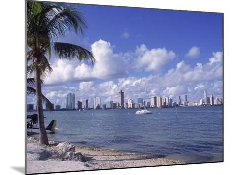 Miami Skyline, FL-Cheyenne Rouse-Mounted Photographic Print