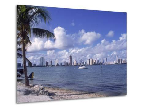 Miami Skyline, FL-Cheyenne Rouse-Metal Print