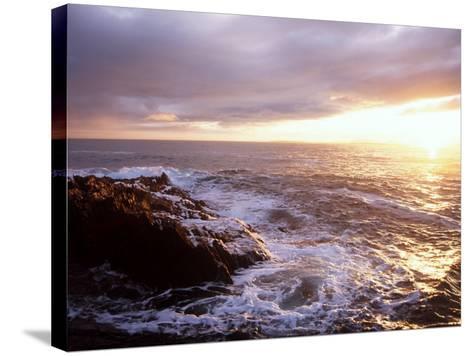 Atlantic Sunset, County Cork, Ireland-Paul Kay-Stretched Canvas Print