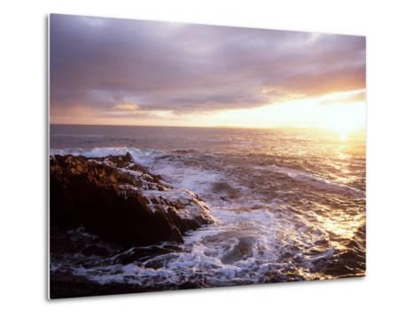 Atlantic Sunset, County Cork, Ireland-Paul Kay-Metal Print