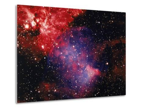 Stars and Nebula-Terry Why-Metal Print
