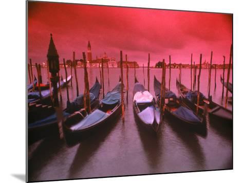 Gondolas, Venice, Italy-Frank Chmura-Mounted Photographic Print