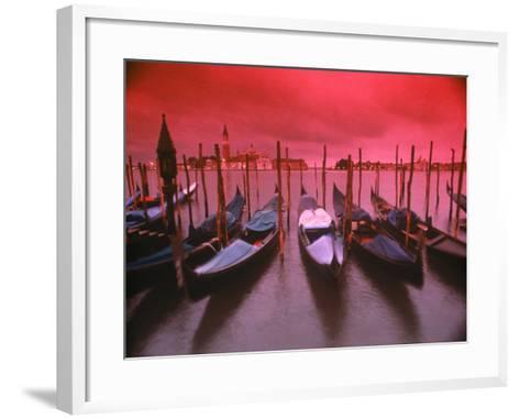 Gondolas, Venice, Italy-Frank Chmura-Framed Art Print