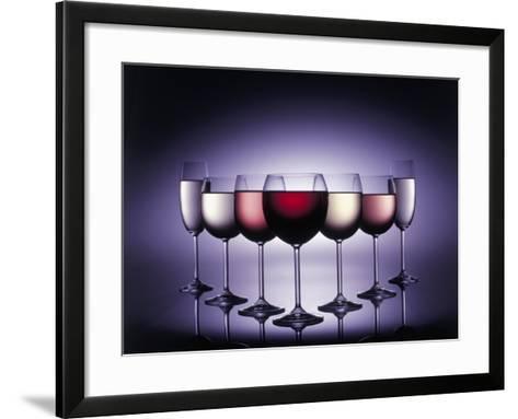 Glasses of Wine-Kurt Freundlinger-Framed Art Print