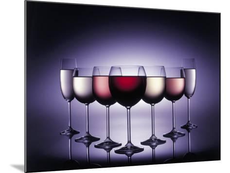 Glasses of Wine-Kurt Freundlinger-Mounted Photographic Print