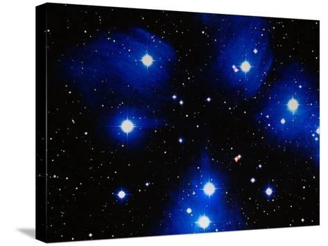 Stars-Terry Why-Stretched Canvas Print