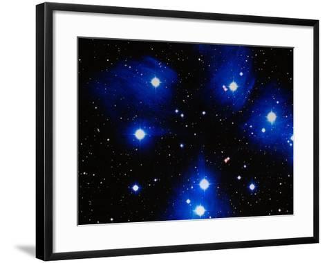 Stars-Terry Why-Framed Art Print