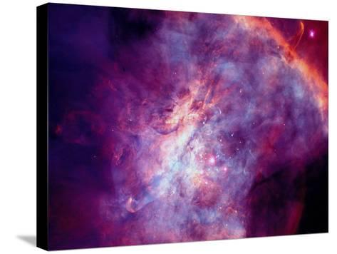 Orion Nebula-Arnie Rosner-Stretched Canvas Print
