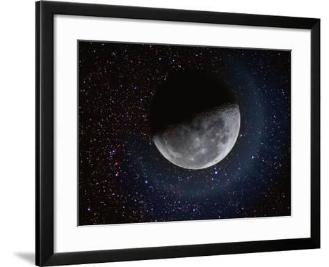 Moon and Stars-Dennis Lane-Framed Art Print