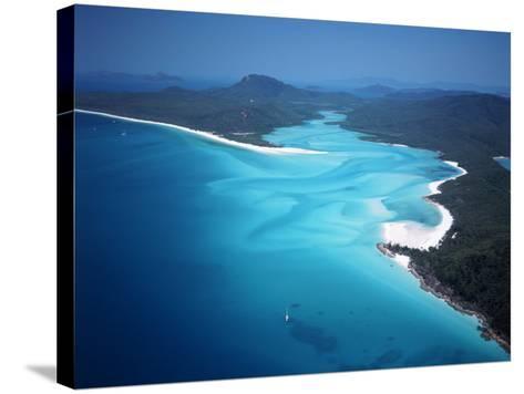 Whitehaven Beach, Queensland, Australia-David Ball-Stretched Canvas Print