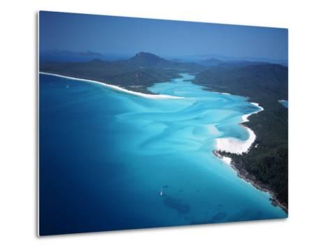 Whitehaven Beach, Queensland, Australia-David Ball-Metal Print