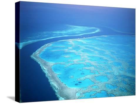 Hardy Reef, Queensland, Australia-David Ball-Stretched Canvas Print