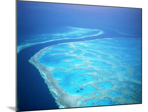 Hardy Reef, Queensland, Australia-David Ball-Mounted Photographic Print