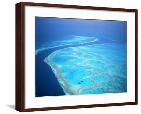 Hardy Reef, Queensland, Australia-David Ball-Framed Art Print