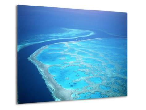 Hardy Reef, Queensland, Australia-David Ball-Metal Print