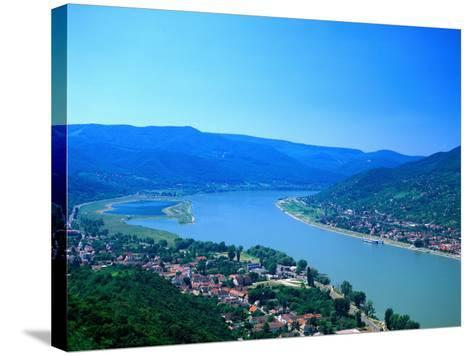 Danube Bend, Visegrad, Hungary-David Ball-Stretched Canvas Print