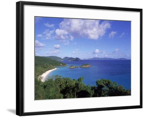 Trunk Bay, North Shore, St. John, USVI-Jim Schwabel-Framed Art Print