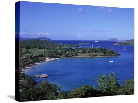 Caneel Bay, St. John, USVI-Jim Schwabel-Stretched Canvas Print