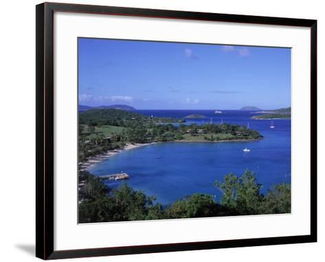 Caneel Bay, St. John, USVI-Jim Schwabel-Framed Art Print