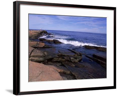 Atlantic Ocean, Halibut Point State Park, MA-Jim Schwabel-Framed Art Print