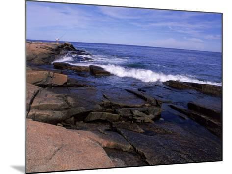 Atlantic Ocean, Halibut Point State Park, MA-Jim Schwabel-Mounted Photographic Print