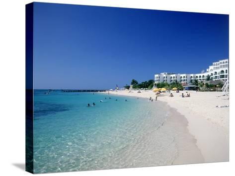 Doctor's Cove Beach, Montego Bay-Angelo Cavalli-Stretched Canvas Print