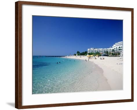 Doctor's Cove Beach, Montego Bay-Angelo Cavalli-Framed Art Print