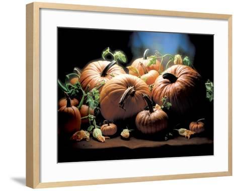 Pumpkins-ATU Studios-Framed Art Print